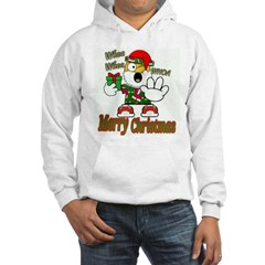 Whoa, whoa, Merry Christmas emoji Hoodie