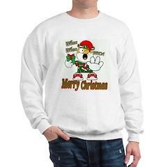 Whoa, whoa, Merry Christmas emoji Sweatshirt
