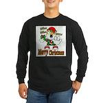 Whoa, whoa, Merry Christmas emoji Long Sleeve T-Sh