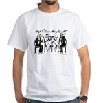 String Quartet White T-Shirt