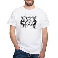 String Quartet White T-Shirt