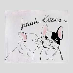 French Kisses Throw Blanket
