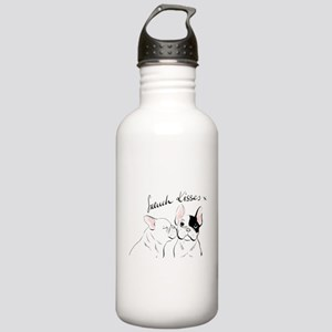 French Kisses Sports Stainless Water Bottle 1.0l