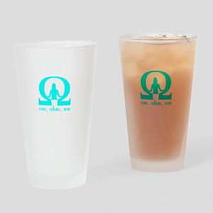 om ohm om Drinking Glass