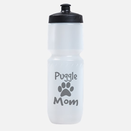 Puggle Mom Sports Bottle