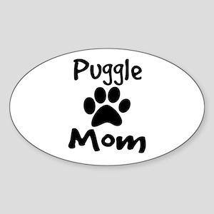 Puggle Mom Sticker