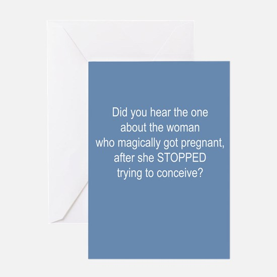 Infertility Greeting Card