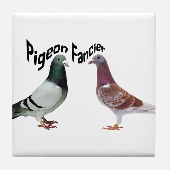 Pigeon Fancier Tile Coaster
