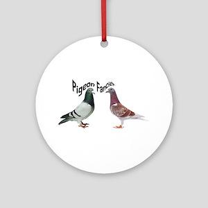 Pigeon Fancier Round Ornament