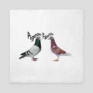 Pigeon Fancier Queen Duvet