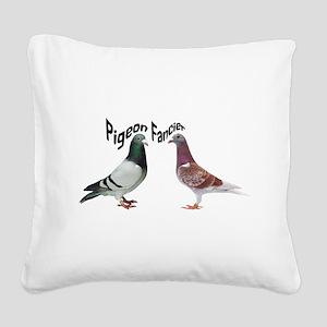 Pigeon Fancier Square Canvas Pillow