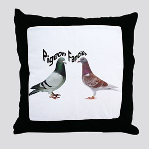 Pigeon Fancier Throw Pillow