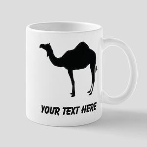 Dromedary Camel Silhouette (Custom) Mugs