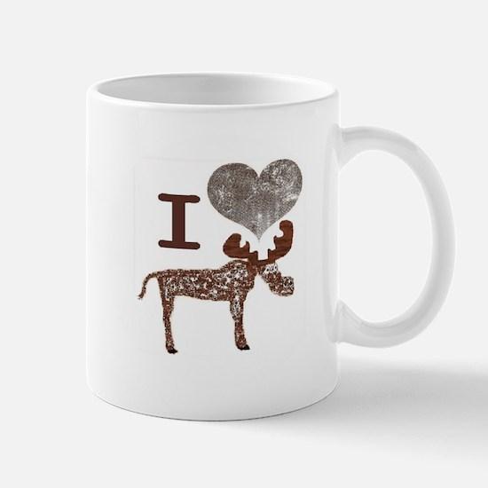 I heart Moose Mug