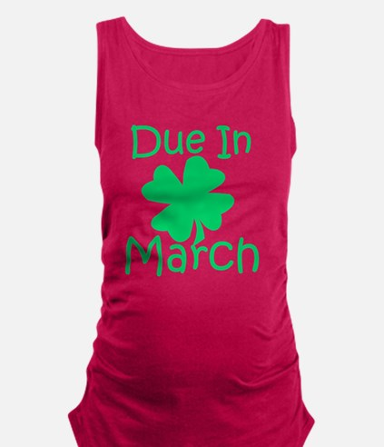 Unique Drinking st patricks day Maternity Tank Top