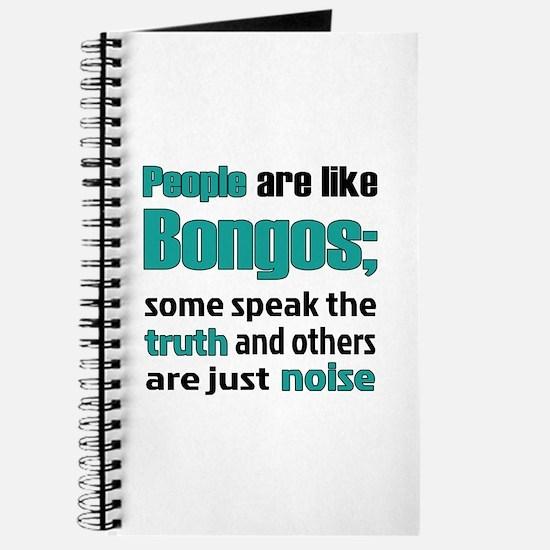 People are like Bongos Journal