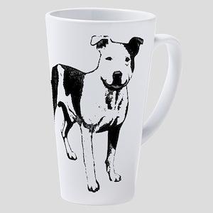 Bull Terrier 17 Oz Latte Mug