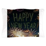 Happy New Year Pillow Case