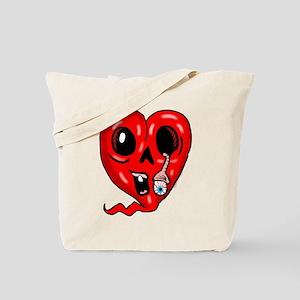 Zombie Heart 3 Tote Bag