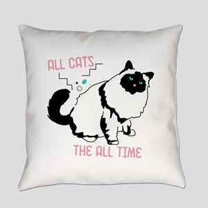 Birman all cats all the time Everyday Pillow