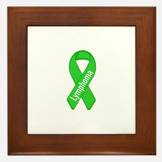 Lymphoma Framed Tile