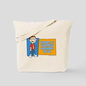 American Dad Steve Tantrum Tote Bag