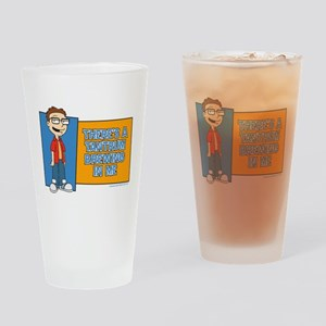 American Dad Steve Tantrum Drinking Glass