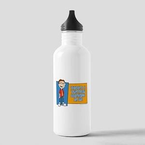 American Dad Steve Tan Stainless Water Bottle 1.0L