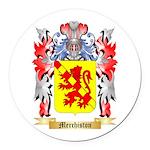 Merchiston Round Car Magnet