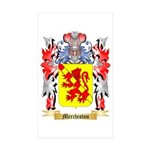 Merchiston Sticker (Rectangle 10 pk)