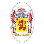 Merchiston Sticker (Oval 10 pk)