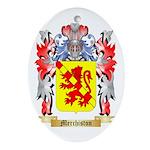 Merchiston Oval Ornament