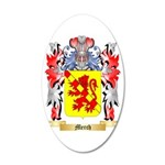 Merch 35x21 Oval Wall Decal