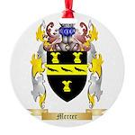 Mercer Round Ornament