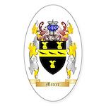 Mercer Sticker (Oval 10 pk)