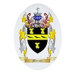 Mercer Oval Ornament
