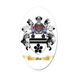 Meo Oval Car Magnet