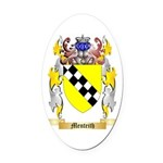Menteith Oval Car Magnet