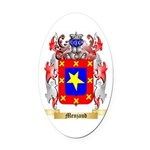 Menjaud Oval Car Magnet