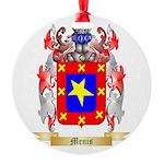 Menis Round Ornament