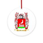 Menini Round Ornament