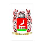 Menicucci Sticker (Rectangle 50 pk)