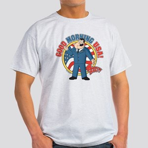 American Dad Stan Good Morning USA Light T-Shirt