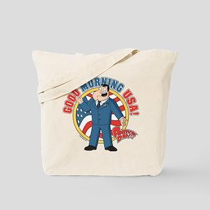 American Dad Stan Good Morning USA Tote Bag