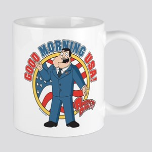 American Dad Stan Good Morning USA Mug