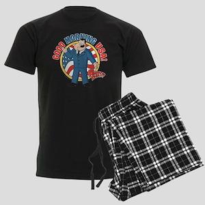 American Dad Stan Good Morning Men's Dark Pajamas