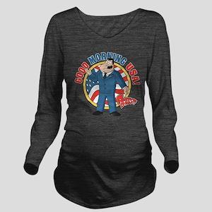 American Dad Stan Go Long Sleeve Maternity T-Shirt