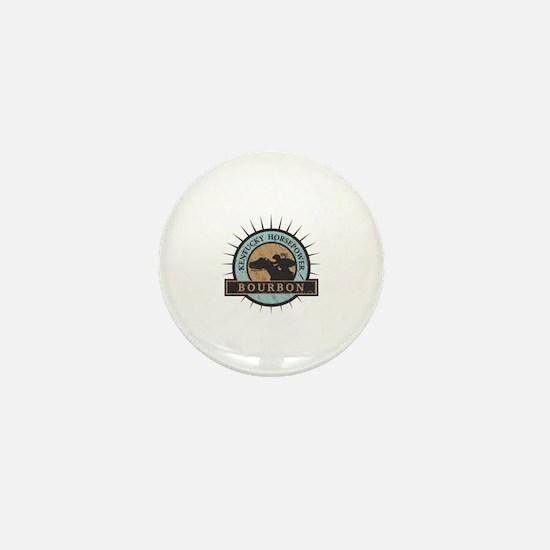Cute Bourbon Mini Button
