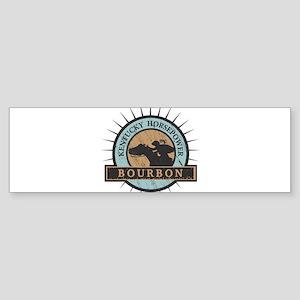 Kentucky Horsepower - BOURBON Bumper Sticker