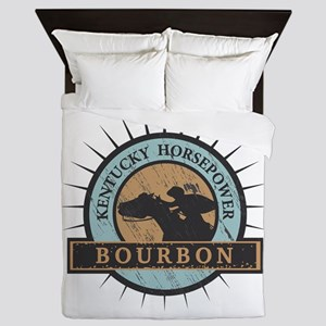 Kentucky Horsepower - BOURBON Queen Duvet
